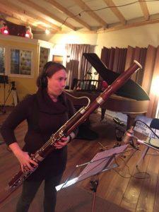 muziekopname in de recording studio van Studio Moskou